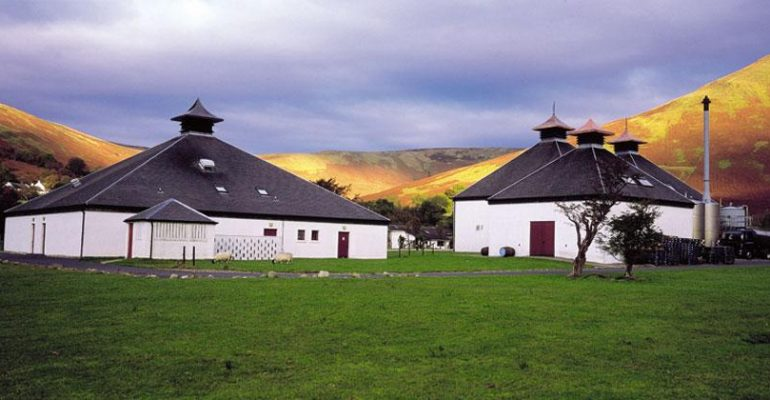 The Arran Whisky distilleerderij