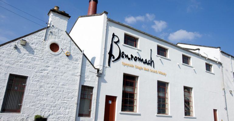Benromach whisky destilleerderij