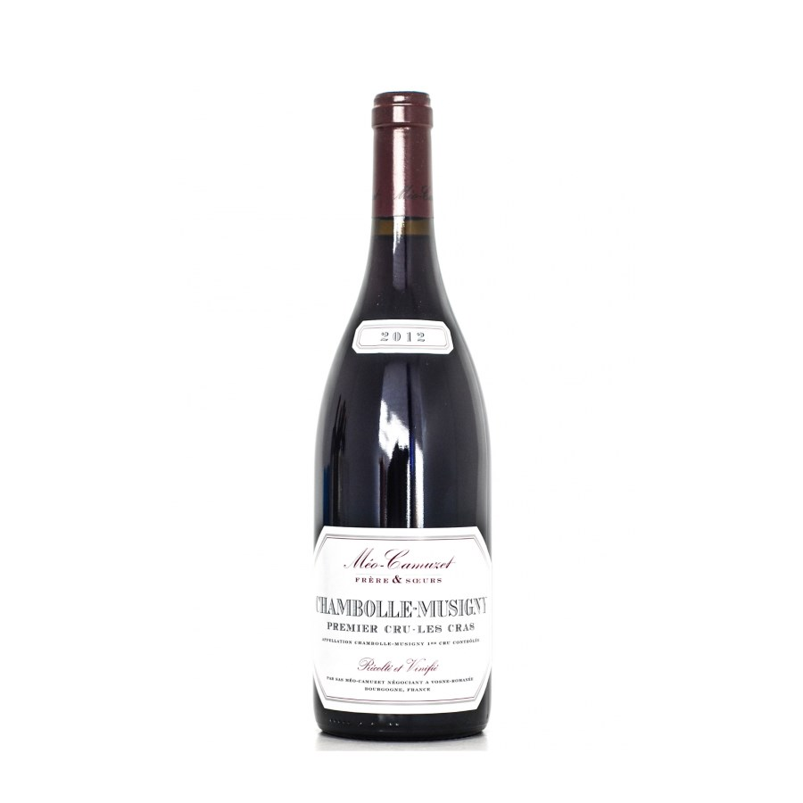 Chambolle Musigny 1er cru Les Cras 2012 meo camuzet