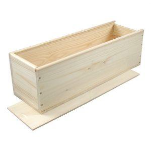 houten kistje schuifdeksel